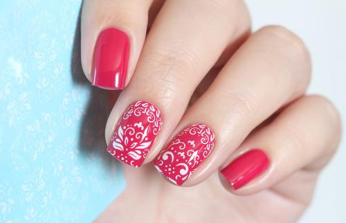 Ногти красиво наращенные гелем